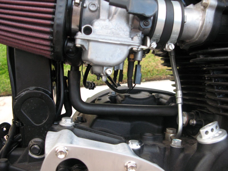 Quick Question Carb Rubber Boots Which Way Triumph Forum
